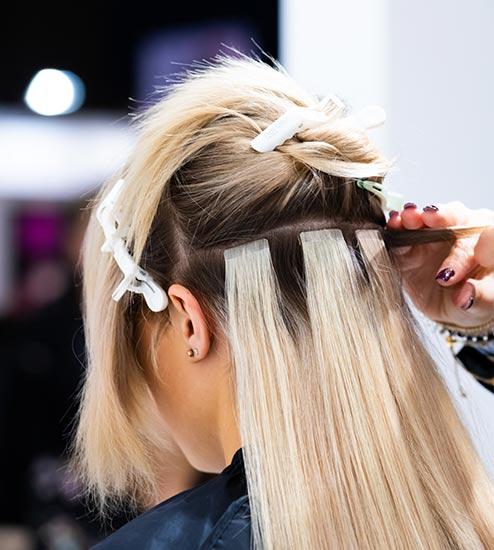 Extension de cheveux